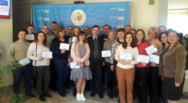 Учасники майстер-класу одержали сертифікати