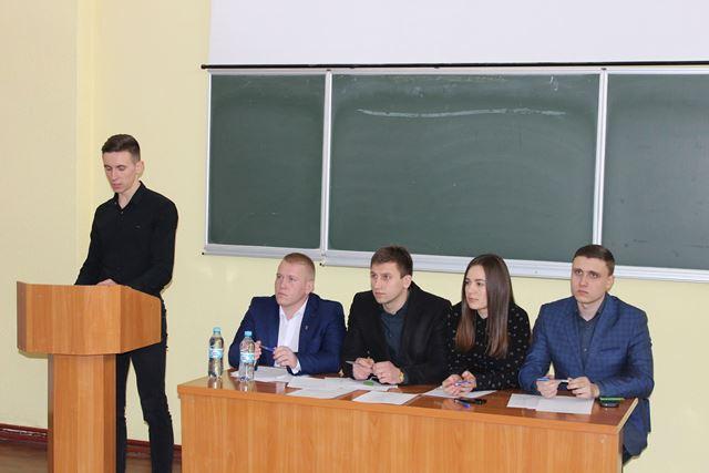 У ТНПУ ім. В. Гнатюка обрали голову профспілкового бюро студентів