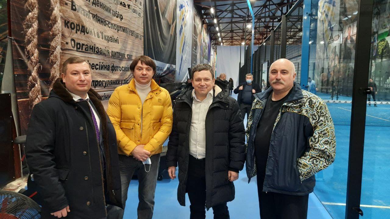 Б.Буяк з президентом ФБУ О Дніпровим