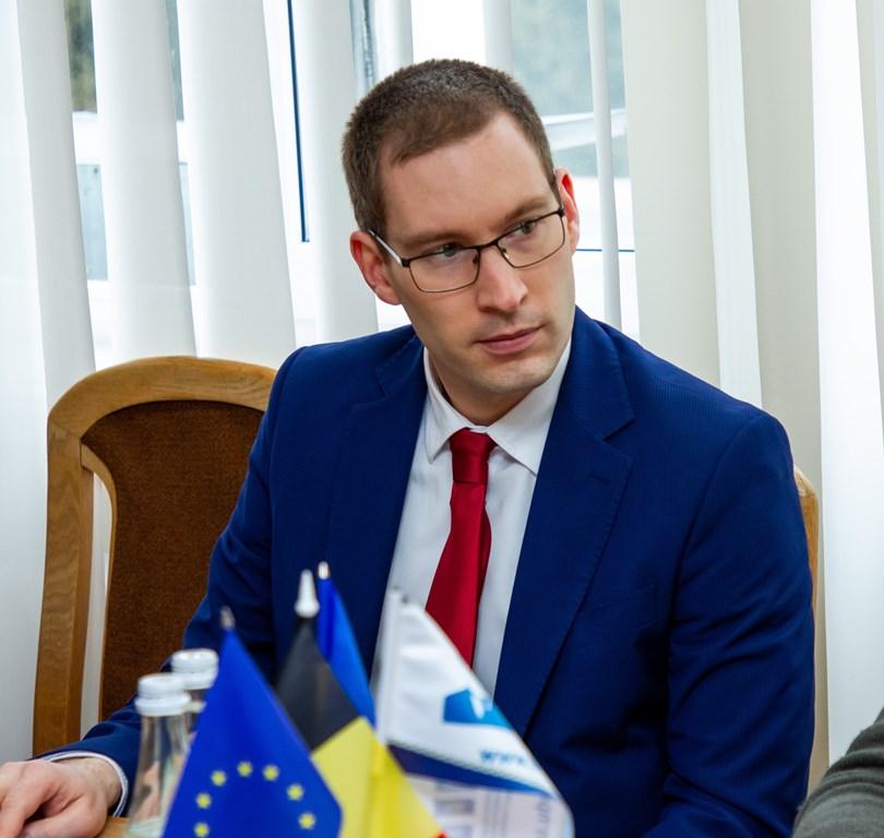 Другий секретар Посольства Бельгії в Україні