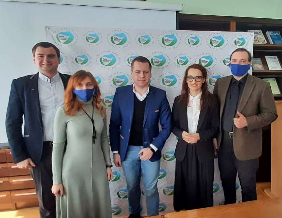 Представники Ради молодих вчених ТНПУ і Ради молодих вчених при МОН