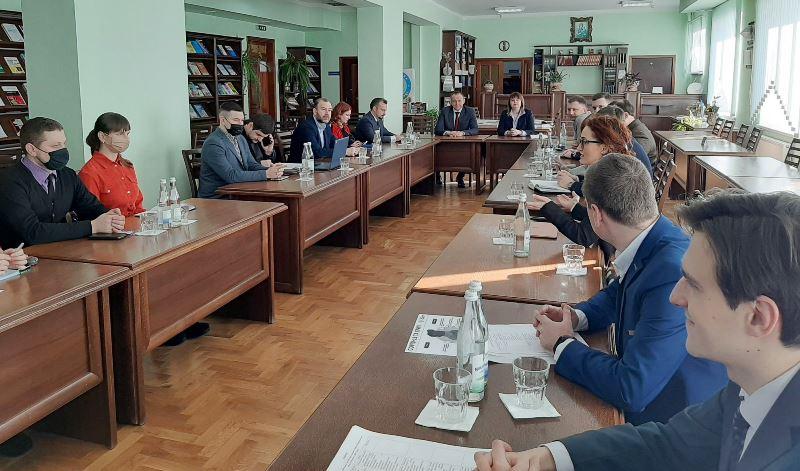 Презентація діяльності Ради молодих вчених при МОН України