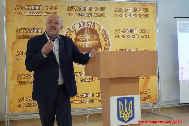 Виступ проф. Терещука Григорія Васильовича